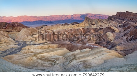 beautiful sand dune formations in death valley california stock photo © tobkatrina