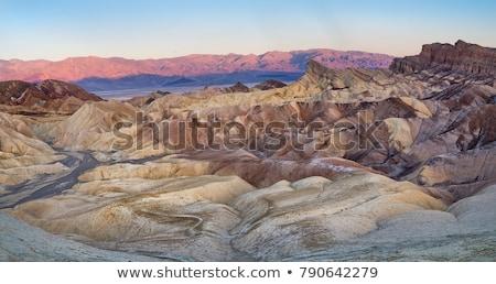 dood · vallei · Californië · zonsondergang · maan · schoonheid - stockfoto © tobkatrina