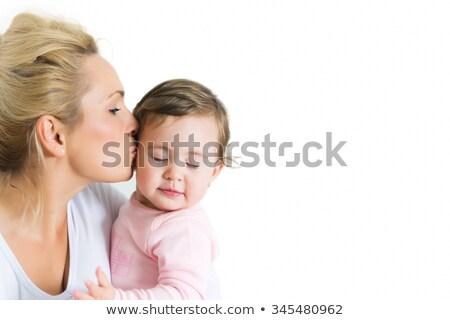 小さな · 母親 · かわいい · 娘 - ストックフォト © dacasdo