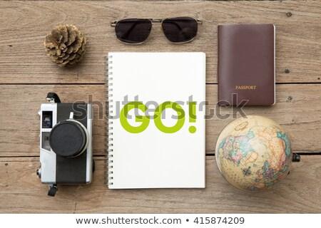 View desk globe Stock photo © zzve