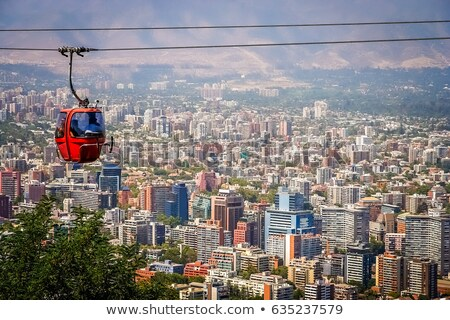 Santiago · Chile · 2013 · generale · view · centrale - foto d'archivio © fxegs