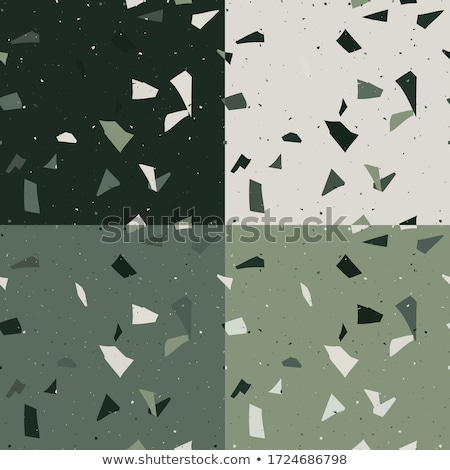 mosaic tile speckled green wall floor Stock photo © Melvin07