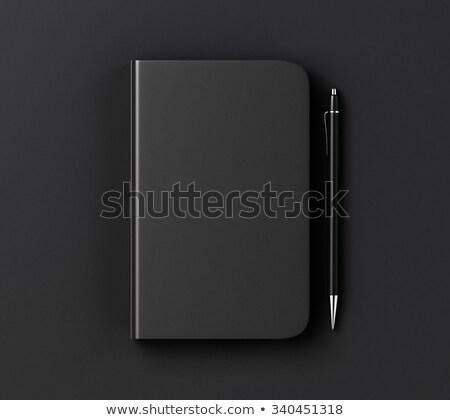 notepaper and black pen Stock photo © jirkaejc