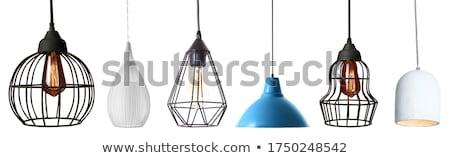 lámpa · tető · alkotóelem · terv · iroda · ház - stock fotó © Toltek