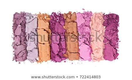 multicolored crushed eyeshadows Stock photo © kubais