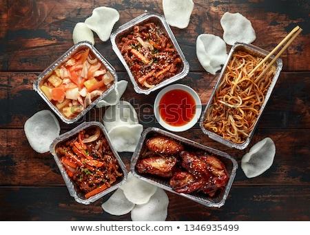 Chinese Takeaway Stock photo © kitch