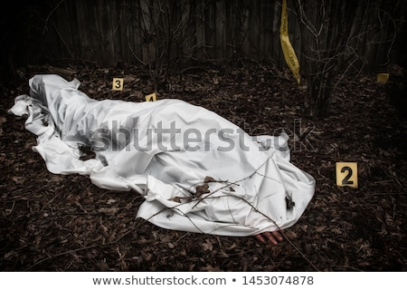 Body under sheet Stock photo © michaklootwijk