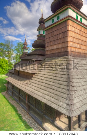 Orthodox Church of St.Michael on Petrin Hill - HDR Image   Stock photo © CaptureLight
