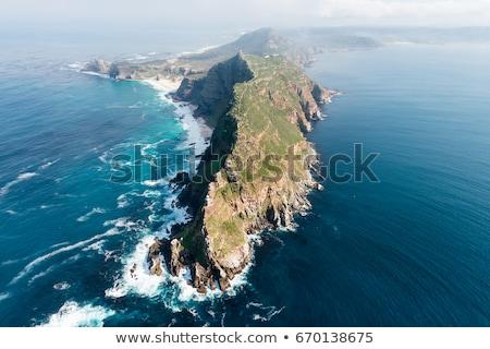 точки ЮАР крутой побережье таблице горные Сток-фото © dirkr