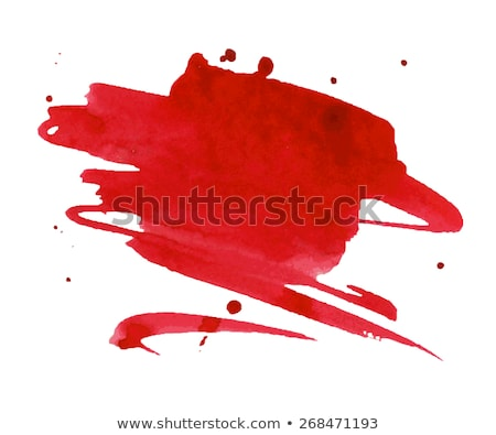 Red aquarelle Stock photo © timbrk