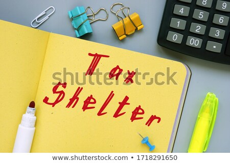 Tax Shelter Stock photo © Lightsource