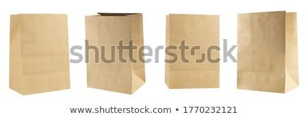 Open Brown Paper Box  Stock photo © dezign56