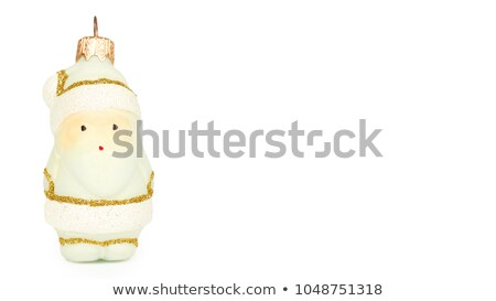 one slender santa claus figurine Stock photo © Rob_Stark