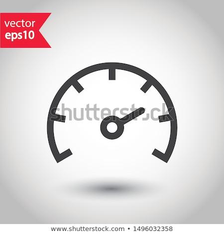 energy meters icons Stock photo © padrinan