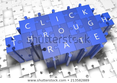 слово синий белый 3d визуализации бизнеса деньги Сток-фото © tashatuvango