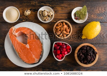 Aspic from salmon Stock photo © fanfo
