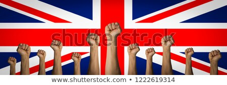 Great Britain riot fist Stock photo © stevanovicigor