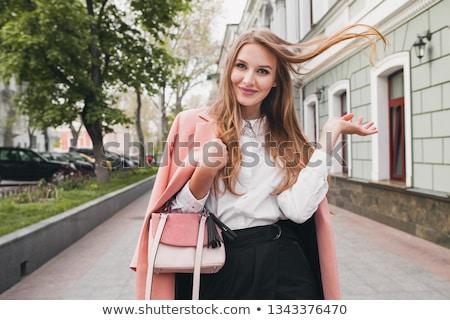 mulher · atraente · modelo · jóias · em · pé · isolado · branco - foto stock © deandrobot