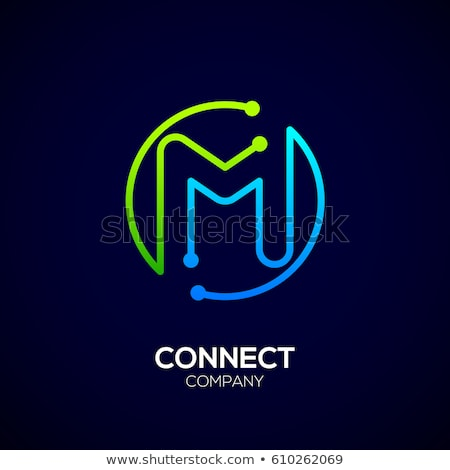 green letter m logotype vector design Stock photo © blaskorizov