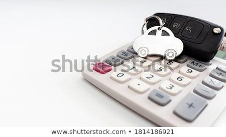 Costs Concept. Keys with Keyring. Stock photo © tashatuvango