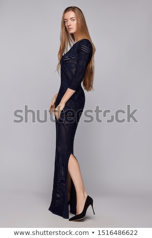 Girl in evening dress Stock photo © svetography