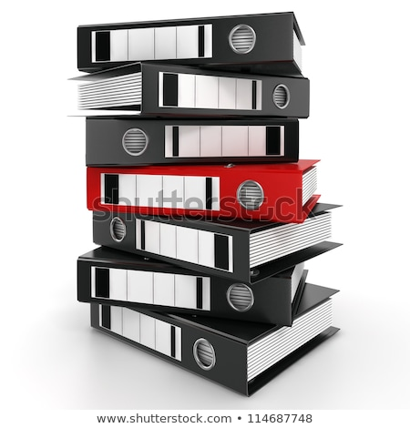 File Folder Labeled as Savings. Stock photo © tashatuvango