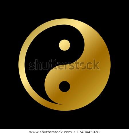 zen · modern · yorumlama · ezoterik · simge · feng · shui - stok fotoğraf © shawlinmohd