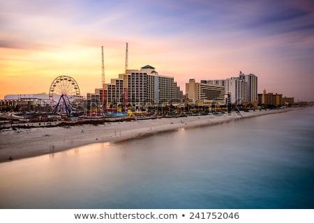 plaży · Florida · brzegu · budynków · USA · wody - zdjęcia stock © tmainiero