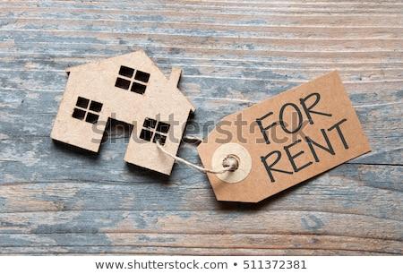 Casa affitto semplice icona home vendita Foto d'archivio © romvo
