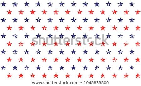AMERICA Stars Background Stock photo © fenton