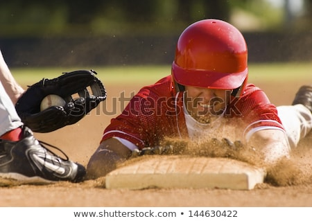 A young baseball player Stock photo © bluering