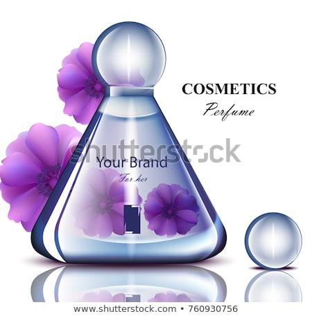 Nő fiola parfüm szőke nő érzéki fiatal nő Stock fotó © PawelSierakowski