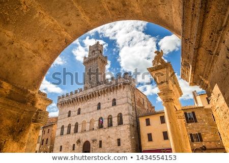 fachada · Windows · toscana · arquitectura · Italia · típico - foto stock © boggy