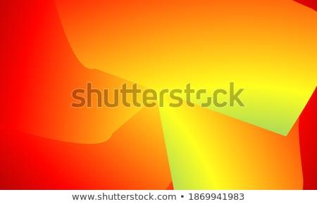 ışık somon soyut düşük çokgen stil Stok fotoğraf © patrimonio