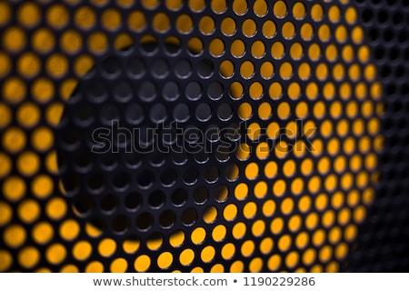 macro loudspeaker detail Stock photo © prill