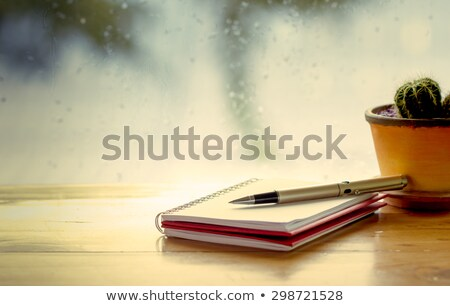 Rainy Day Schedule Stock photo © Lightsource