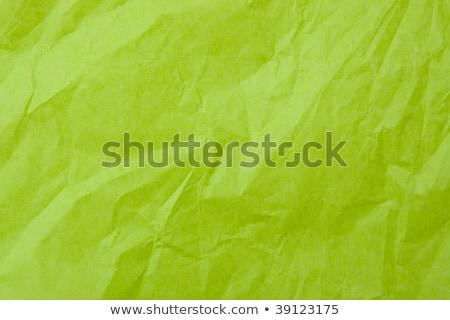 The rumple green paper background. Stock photo © borysshevchuk