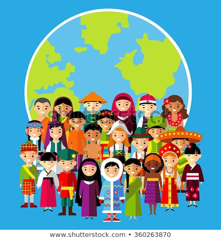Cultural diversity around the world Stock photo © bluering