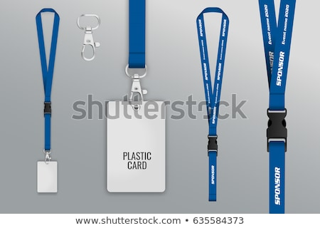 blank badges set vector realistic illustration stock photo © pikepicture