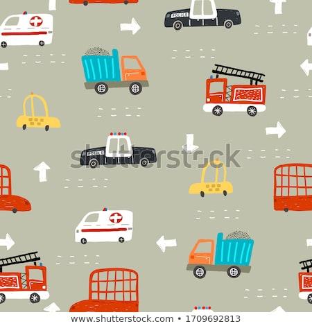 Araba araç toplama ayarlamak nötr Stok fotoğraf © rogistok