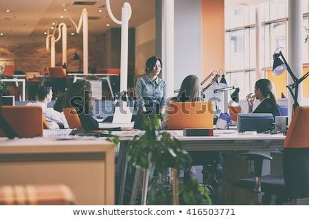 Business Education on Laptop in Modern Workplace Background. Stock photo © tashatuvango
