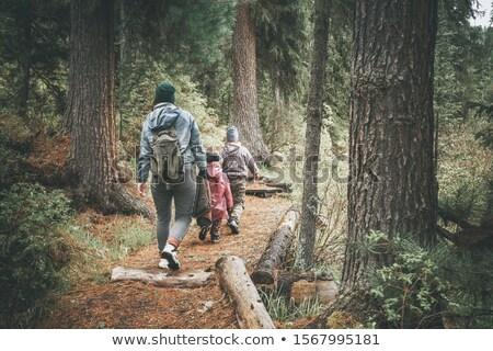 Family Trek Stock photo © IS2