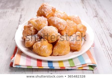 french donut, pet de none Stock photo © M-studio