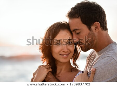 couple standing close together stock photo © is2