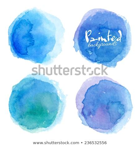 Spots Kreise Wasser abstrakten Textur Stock foto © OleksandrO