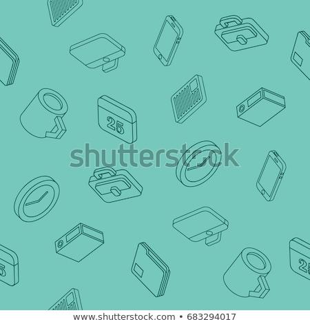 Geld · Bericht · Vektor · Gliederung · Illustration - stock foto © netkov1