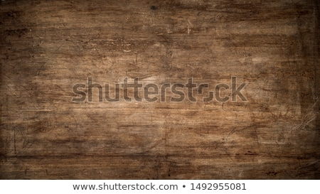 Textured wooden background - grungy weathered wooden surface covered with old blue and red peeling p Stock photo © galitskaya