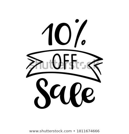 Super Price 10 Ten Percent Off Price Discount Stock photo © robuart