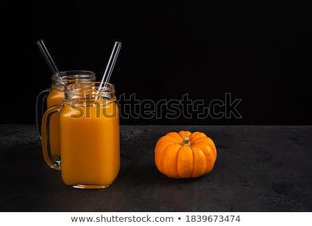 Halloween cocktail décoration fête potable Photo stock © Illia