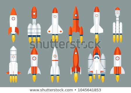 Space Rocket Project Startup Symbol, Spaceship Stock photo © robuart